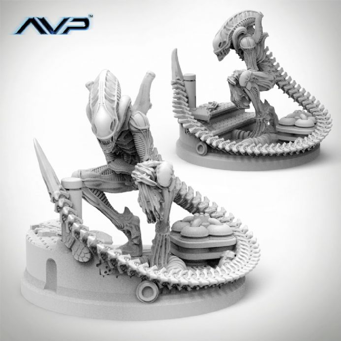AvP: The Hunt Begins – Alien Evolved Warriors UniCast Expansion | Buy now at The G33Kery - UK Stock - Fast Delivery